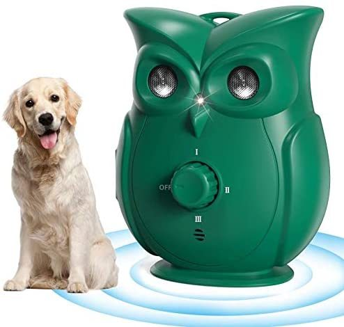 Ultrasonic Dog Repeller Cute Owl 33 FT Distance Dog Anti Barking Training Repeller