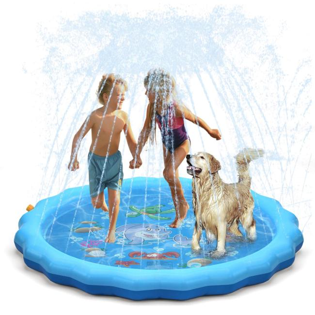 Sprinkler For Kids Outdoor Splash Pad For Summer