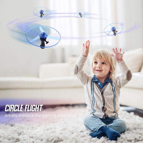 Lighting Flying Saucer Toy