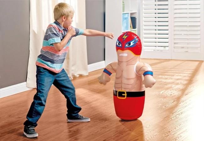 Inflatable tumbler
