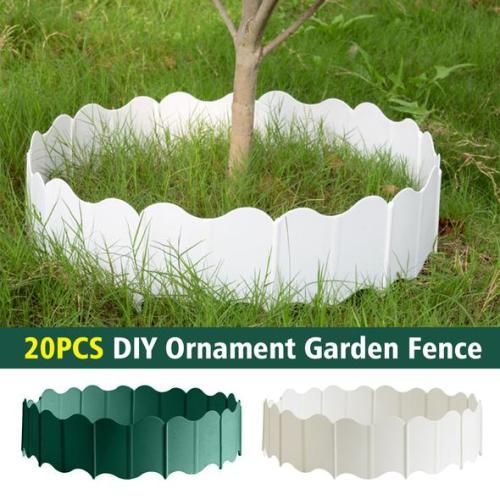 20 PCS DIY Ornament Garden Fence