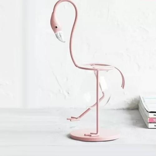 Standing Flamingo Planter