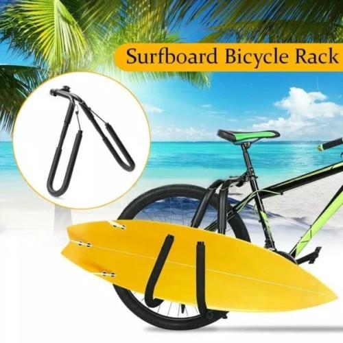 Surfboard - SUP Carrier Bicycle or Motorcycle Rack