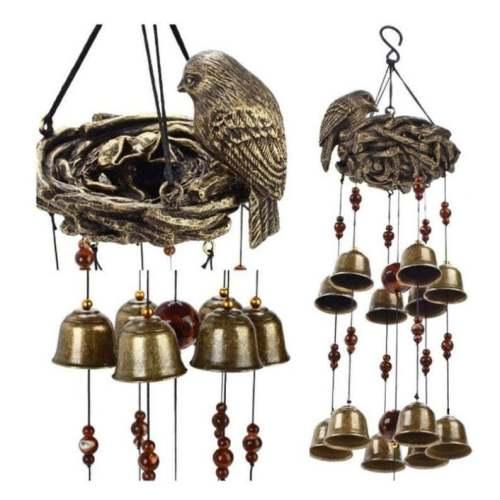 Bird Nest Wind Chimes