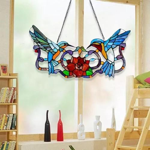 Share Rose Painted Hummingbird