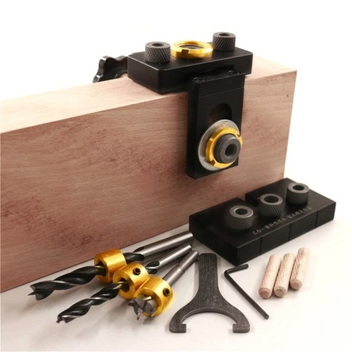 3 IN 1 ADJUSTABLE DOWELING JIG