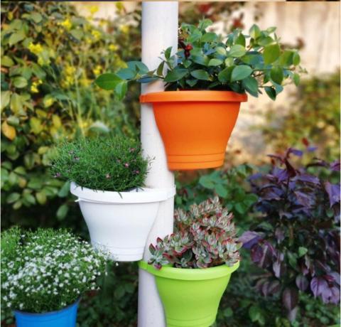 Pipe Garden Pot