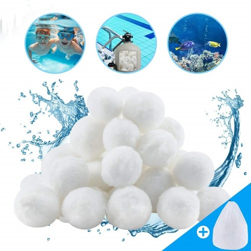 1.5 lbs Pool Filters Eco-friendly Fiber Filter Balls for Pool Sand Filters