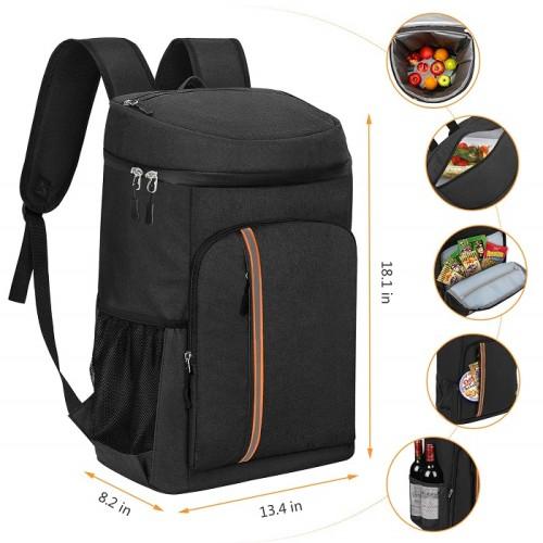 Cooler Backpack 30 Cans Leak Proof Thermal Thermal Backpack