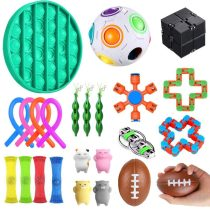 Sensory Fidget Toys Set 23 Stück Zappelspielzeug für Kinder und Erwachsene
