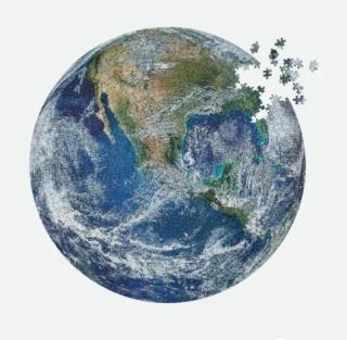 1000-teiliges großes Puzzle für Erwachsene - Erde