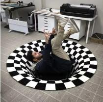 3D Whirlpool Halluzination Teppich