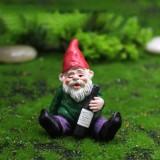 Betrunkener Zwerg 4 Stück für Fairy Garden oder Home Decor