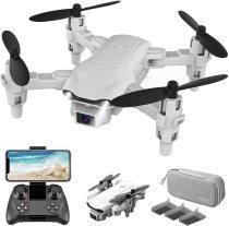 2021 Neue RC Drone 4k HD Weitwinkelkamera WIFI FPV Drohne Dual Camera Quadcopter