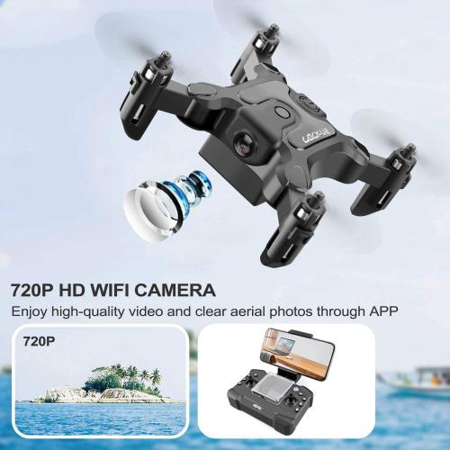 4DRC Mini Drone with 720p Camera for Kids and Adults