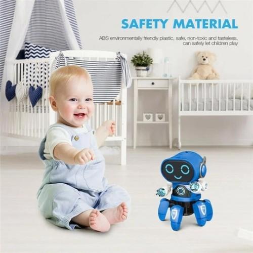 Electric Intelligent Dancing Smart Robot Musical Light Toy