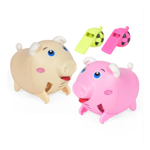 Voice Activated Running Pig