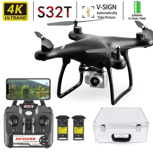 S32t Drone 2021 Latest 4k Camera Rotation Waterproof Professional