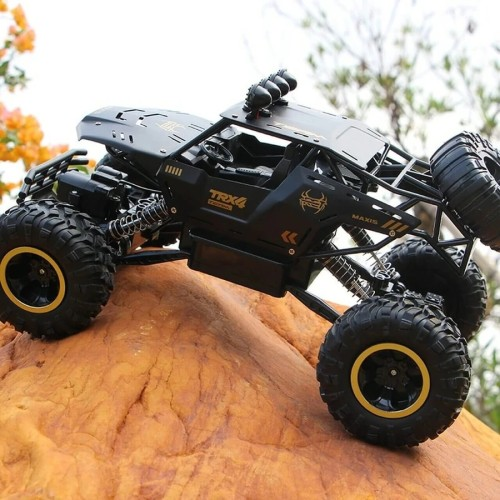 Upgraded New Large RC Cars 2.4Ghz Off Road All Terrain Remote Control Truck Monster For Kids and Adults