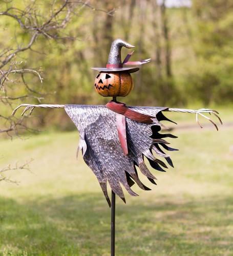 Halloween Scarecrow Jack O' Lantern Ground Stake