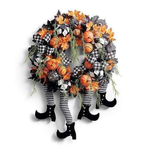 Fall Halloween Wreath