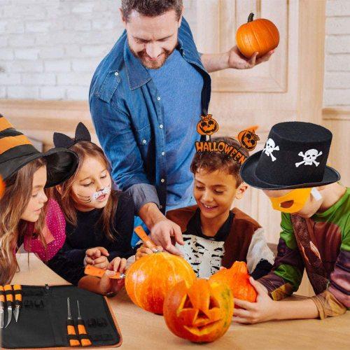 Halloween Pumpkin Carving Tool Kit (9 Pcs)
