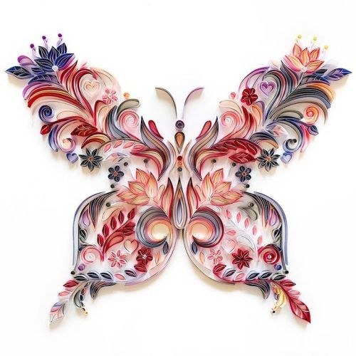Paper Quilling Filigree painting Kit
