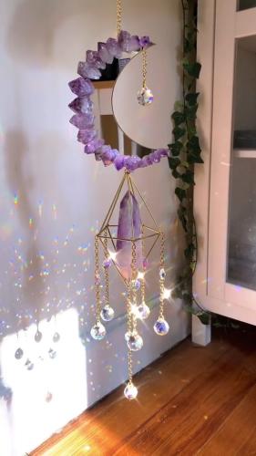 Aurora Crystal Suncatchers