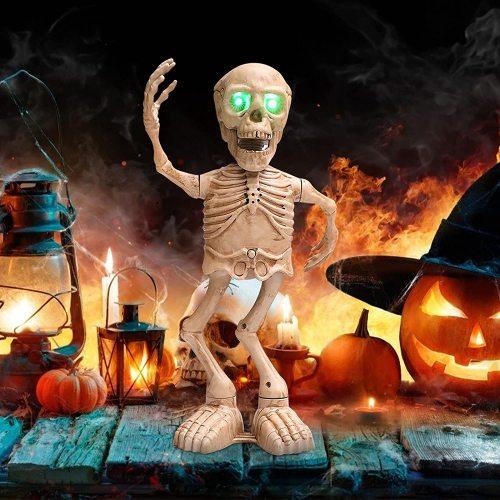 Halloween Dancing Skeleton Ghost Dancing Skeleton Frame Funny Toys for Kids