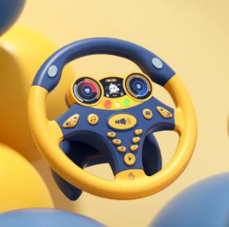 Children's Steering Wheel Simulation Educational Toy