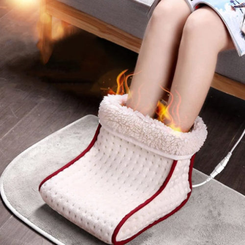 Cosy Heated Electric Warm Foot Warmer Massager