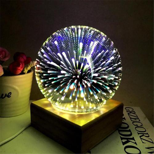 3D USB Sphere Lightning Lamp Colorful Ball