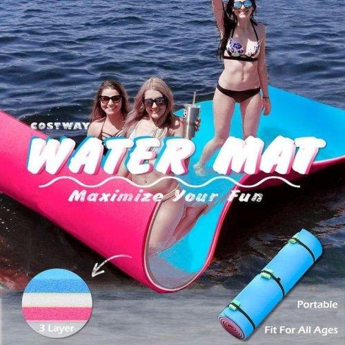 Floating Water Pad Mat Summer Floating Water Pad Foam Mat