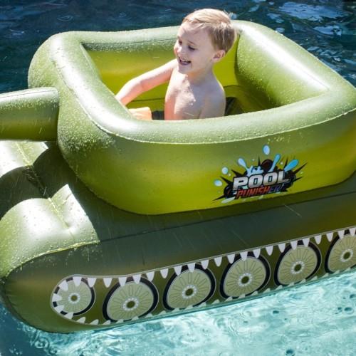 Pool Punisher Inflatable Tank Pool Float Pool Toys Pool Inflatables Swimming Pool Float