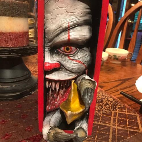 Monster in the bookshelf