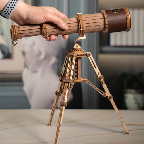 Monocular Telescope ST004 3D Wooden Puzzle