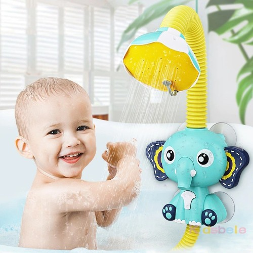 Elephant Bath Baby Toy Shower Electric Automatic Water Pump With Sprinkler Regular Electric Water Spray Toy