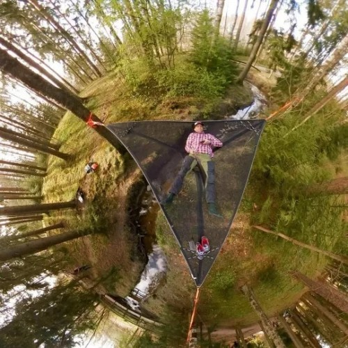 Multi-Person Hammock Multi-Person Tree Hammock - Patented 3 Point Design, Heavy Duty Ratchets and Straps