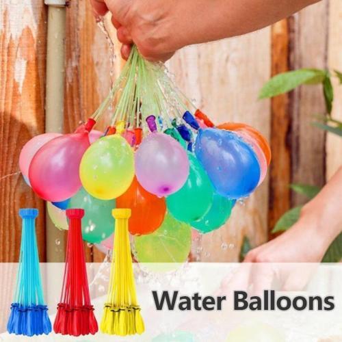 Rapid-Filling Self-Sealing Water Balloons