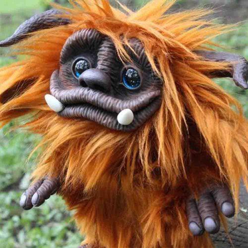 Ludo Labyrinth Sir Didymus Firou Ello Labyrinth Plush from Labyrinth Ginger Troll from Labyrinth