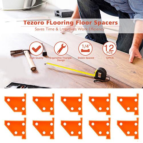 Flooring Spacers, 20pcs Laminate Wood Flooring Tools