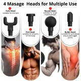 Mini Massage Gun Pocket Muscle Massager Exercising Muscle Pain Relief Body Muscle Relax Electric Body Massager