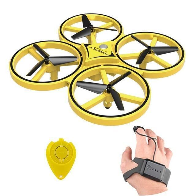 Hand Gesture Controlled Rc Drone For Kids