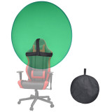 Collapsible Chromakey Backdrop Green Screen 56In