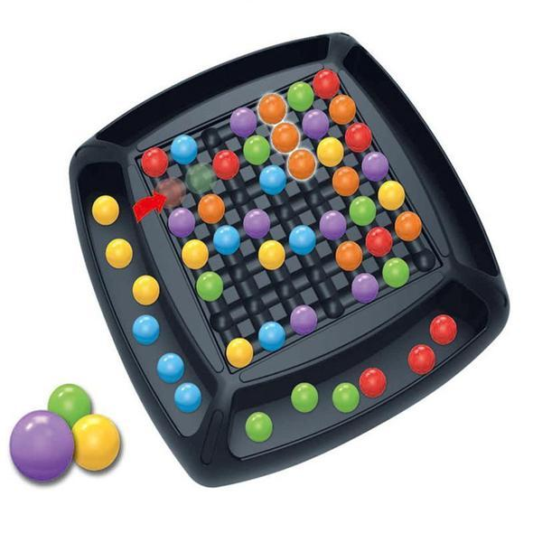 Rainbow Ball Elimination Game Rainbow Puzzle Magic Chess Toy Kid Parent Interaction Family Game Toy