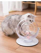 Interactive Spinning Cat Playing Toy