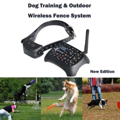 GPS Invisible Electric Wireless Dog Fence with Collar