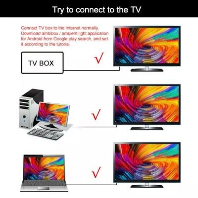 DIY Ambilight TV PC USB LED Strip HDTV Computer Monitor Backlight