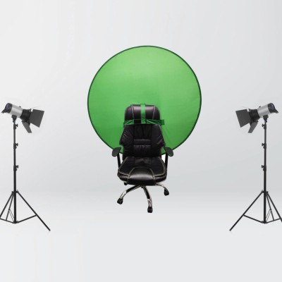 Green and Blue Screen Photo Background