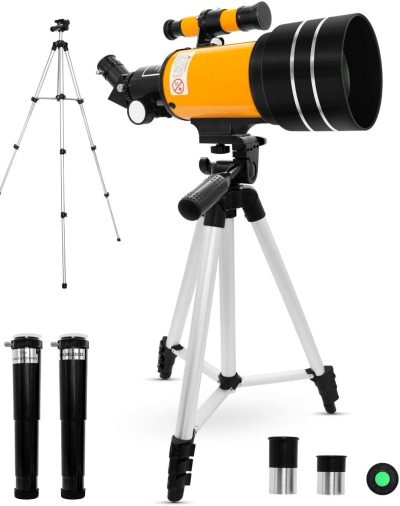 Best Telescope for Kids and Beginners with Adjustable Tripod HD Night Vision